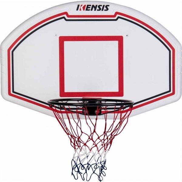 """Basketbalový koš - Kensis BACKBOARD COMBO SET 44"""" bílá - Basketbalový set"""