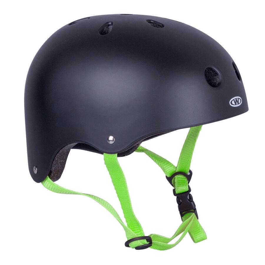 Černá cyklistická helma Rivaly, Worker