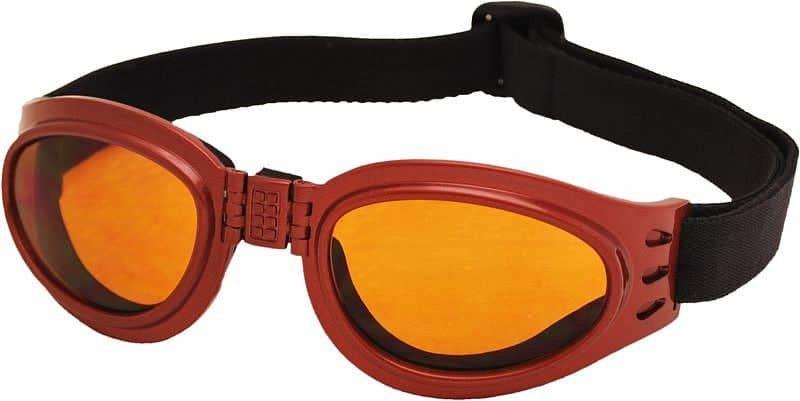 Červené běžecké brýle TT Blade Fold, Rulyt