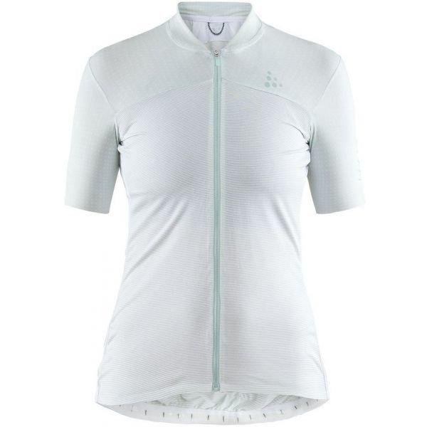 Bílý dámský cyklistický dres Craft