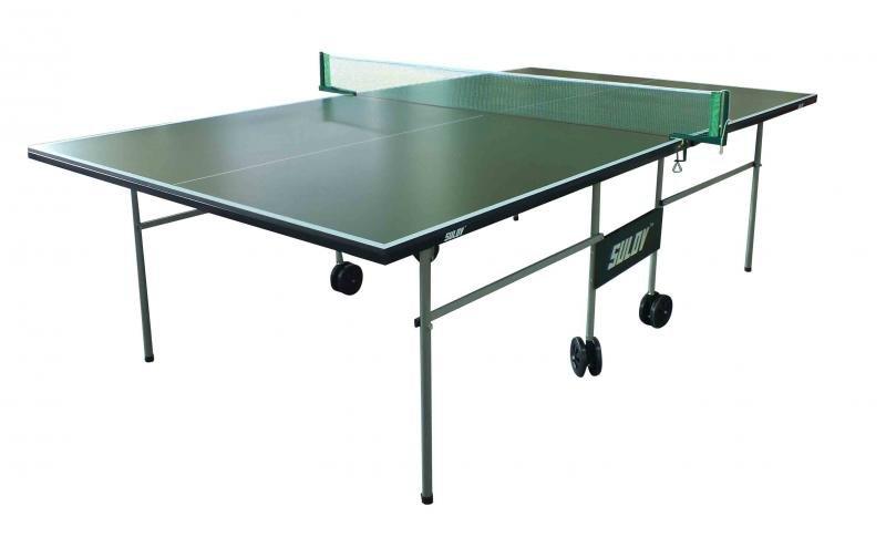 Zelený vnitřní stůl na stolní tenis IN5303, Sulov