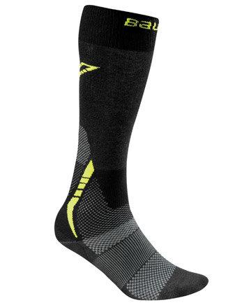 Černo-šedé hokejové ponožky Premium Performance Skate Sock, Bauer