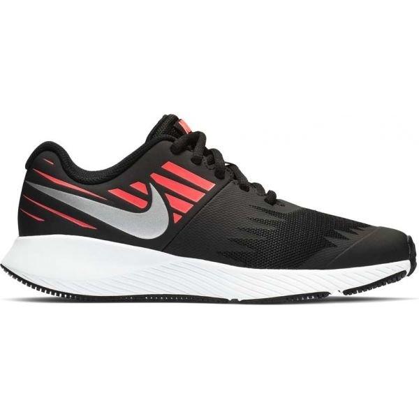 Černé dívčí běžecké boty Nike