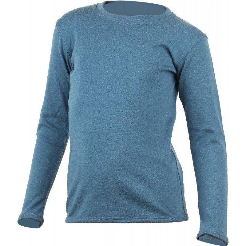 Modré dětské funkční tričko s dlouhým rukávem Lasting