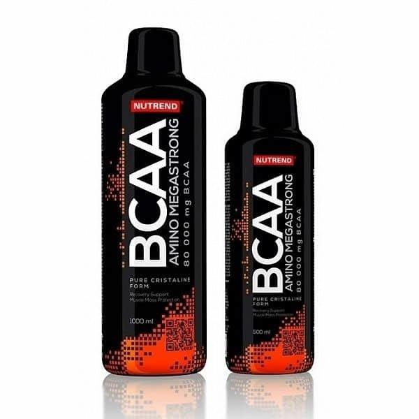 BCAA - Nutrend Amino BCAA Mega Strong 1000 ml 1000 ml
