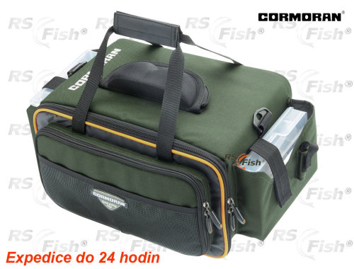 Zelená rybářská taška Cormoran