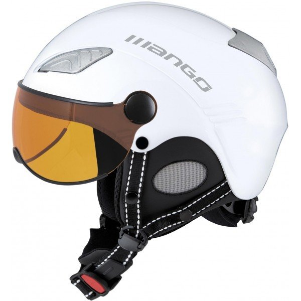 Bílá lyžařská helma Mango