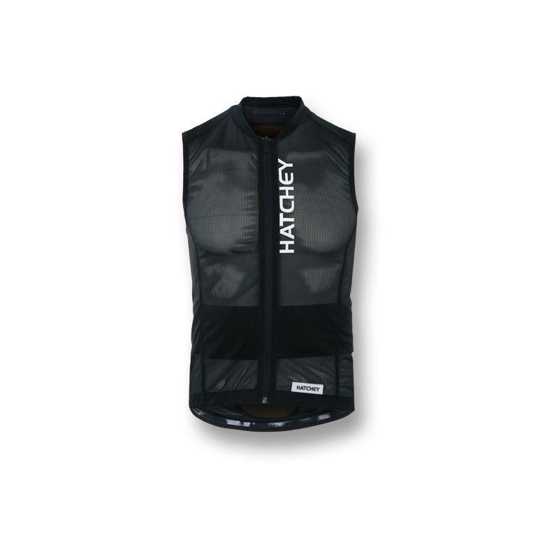 Černé chrániče na snowboard na záda Hatchey - velikost XL