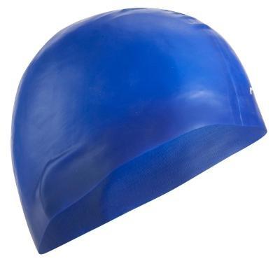 Modrá dámská nebo pánská plavecká čepice Nabaiji
