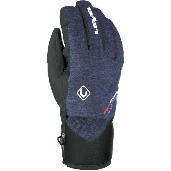 Modré pánské zimní rukavice Level
