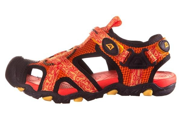 Oranžové dětské sandály Alpine Pro - velikost 33 EU