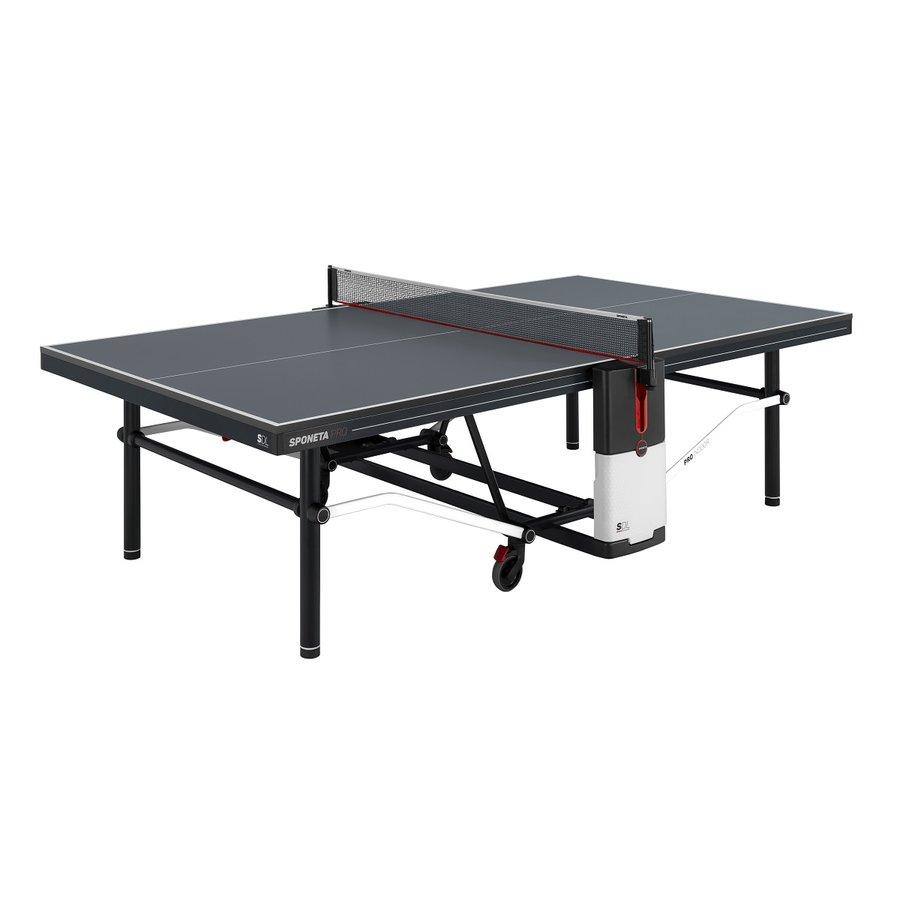 Černý vnitřní stůl na stolní tenis Design Line, Sponeta