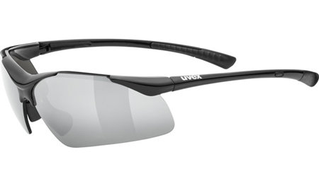 Černé cyklistické brýle Sportstyle, Uvex