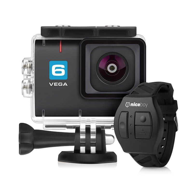 Černá outdoorová kamera Vega 6, Niceboy