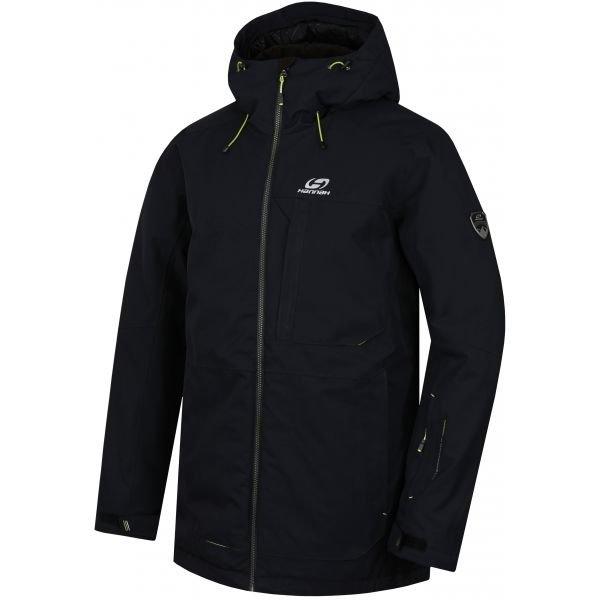 Černá pánská lyžařská bunda Hannah