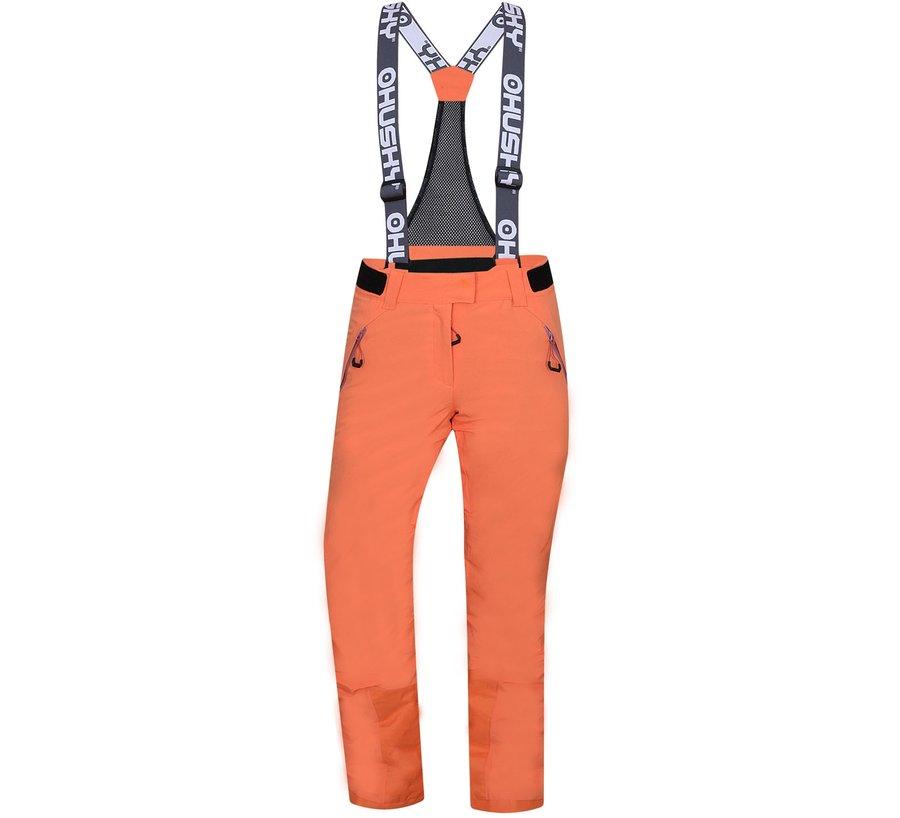 Oranžové dámské lyžařské kalhoty Husky