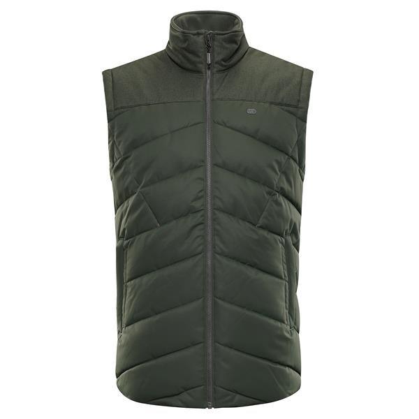 Černá zimní pánská vesta Alpine Pro