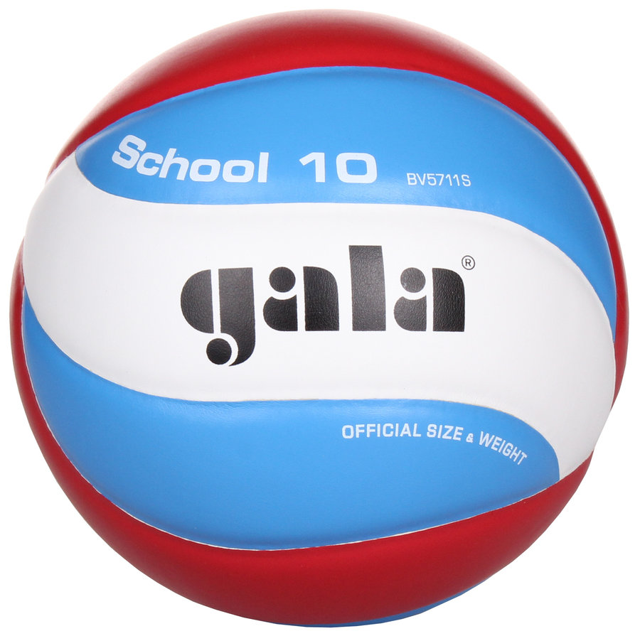 Různobarevný volejbalový míč BV5711S, Gala - velikost 5