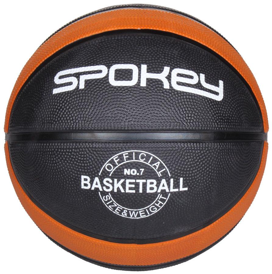 Černý basketbalový míč DUNK, Spokey - velikost 7