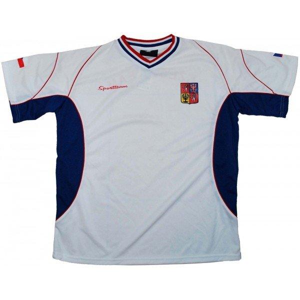 Bílý fotbalový dres Sport Team