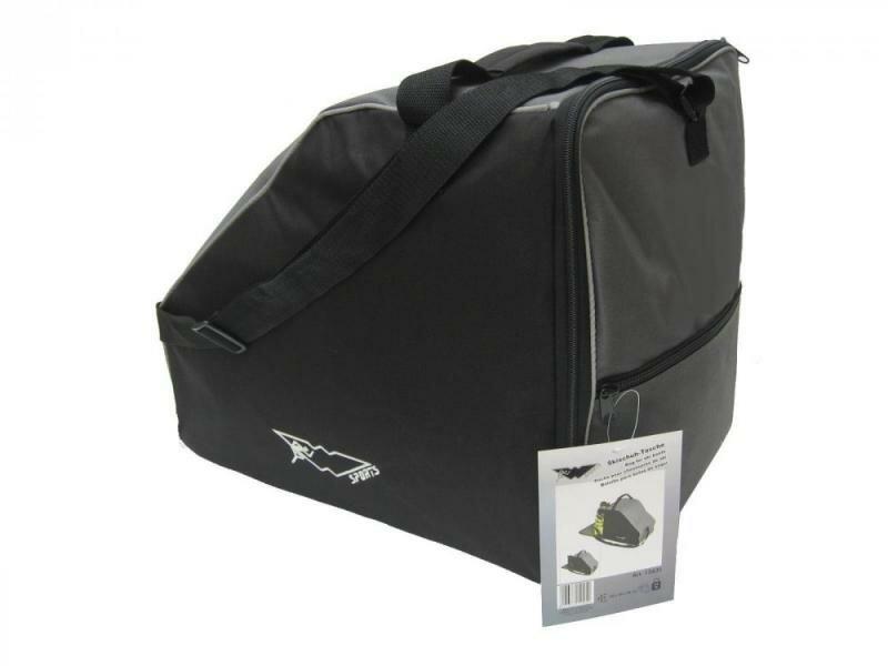 Černá taška na lyžařské boty pro 1 pár Wehcke