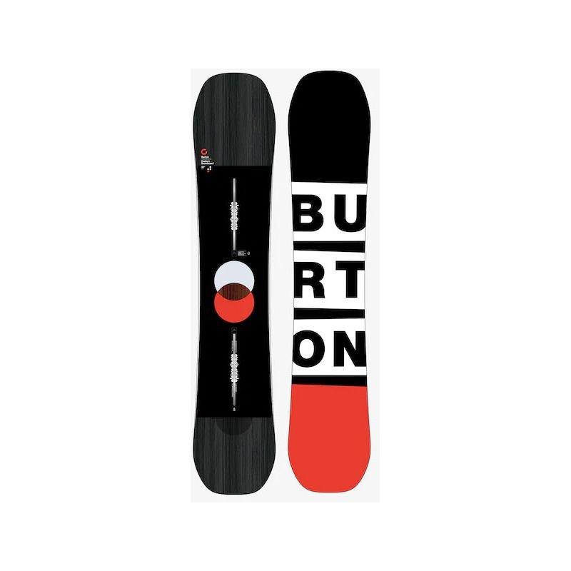Černý snowboard bez vázání Burton - délka 154 cm
