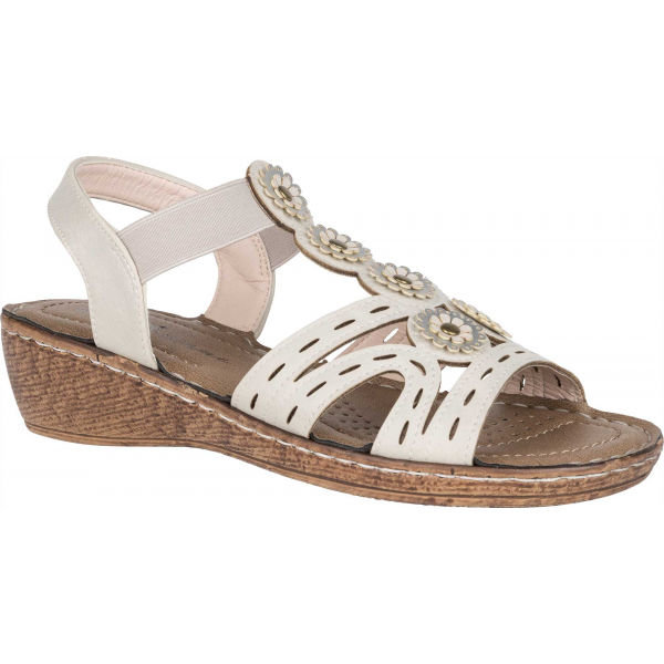 Béžové dámské sandály Avenue - velikost 37 EU