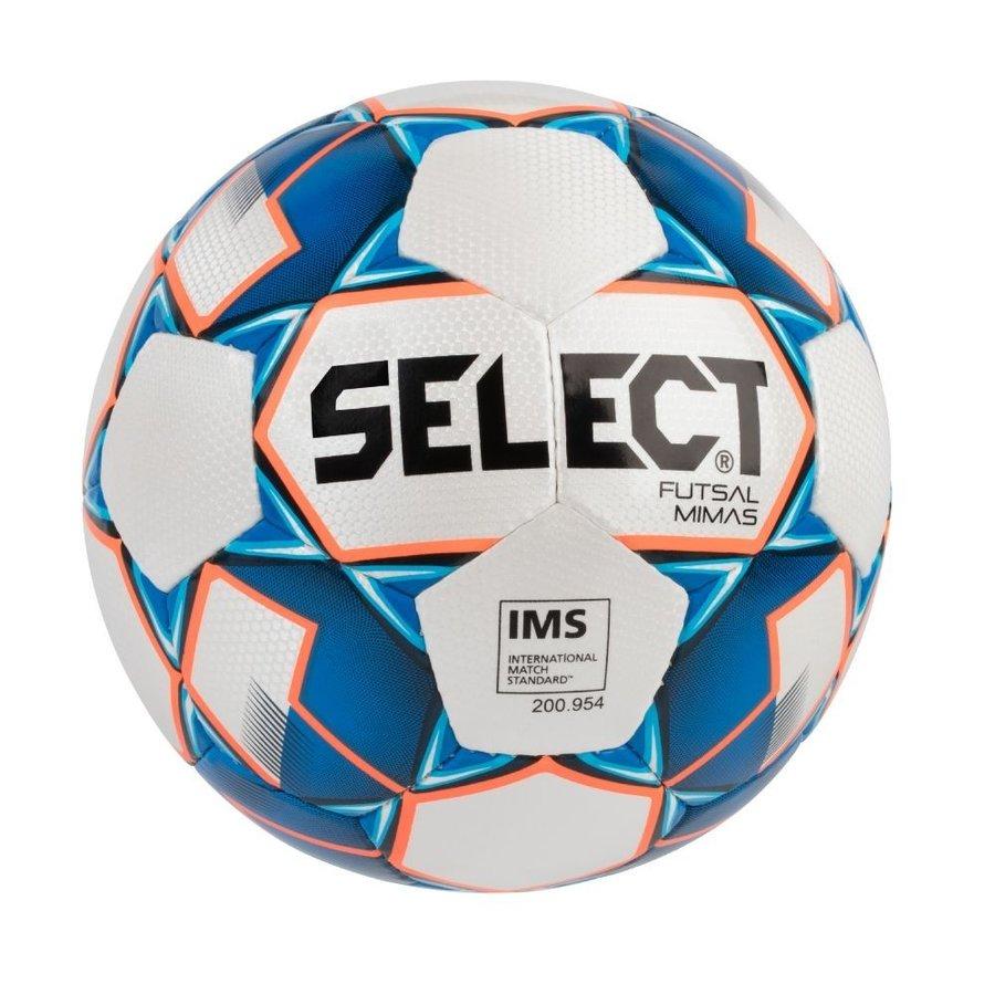 Bílo-modrý futsalový míč FB Futsal Mimas, Select - velikost 4
