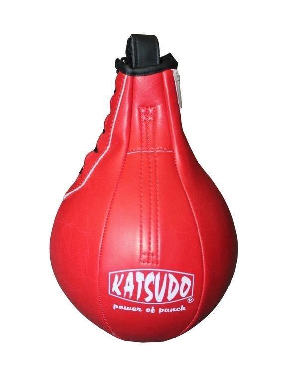 Boxovací hruška - Katsudo Pneu Hruška Thai - červená