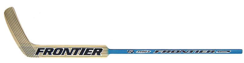 Pravá brankářská hokejka - junior 3500 G, Frontier - délka 54 cm