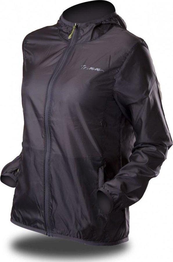 Šedá sportovní nepromokavá dámská bunda Trimm - velikost XS