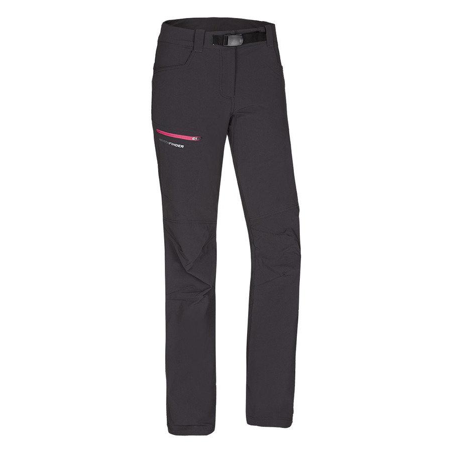 Černé dámské kalhoty NorthFinder - velikost XL