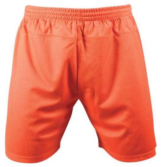 Oranžové dětské fotbalové kraťasy Brasilia, Merco - velikost 128