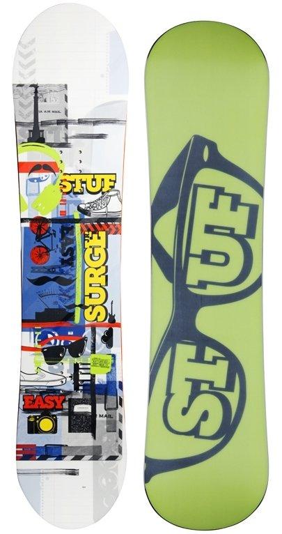 Dětský snowboard bez vázání Stuf