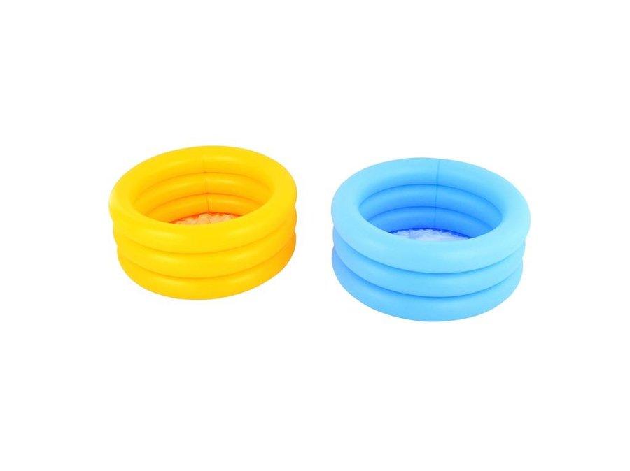 Nadzemní nafukovací dětský kruhový bazén - objem 48 l, průměr 70 cm a výška 30 cm