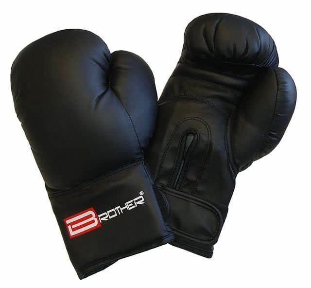 Černé boxerské rukavice Acra