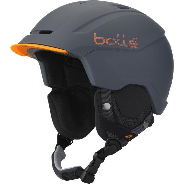 Šedá pánská lyžařská helma Bollé - velikost 54-58 cm
