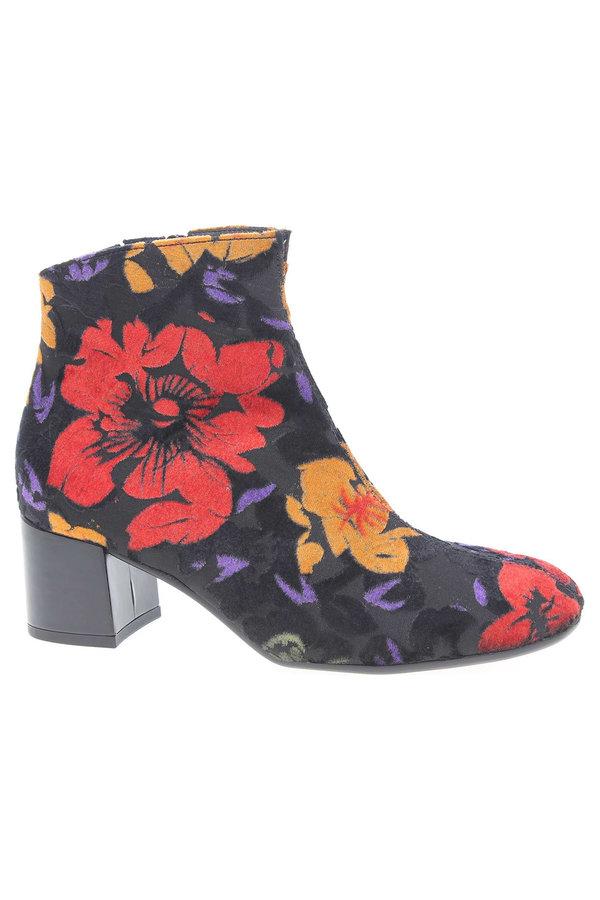 Různobarevné dámské zimní boty Gabor - velikost 37 EU