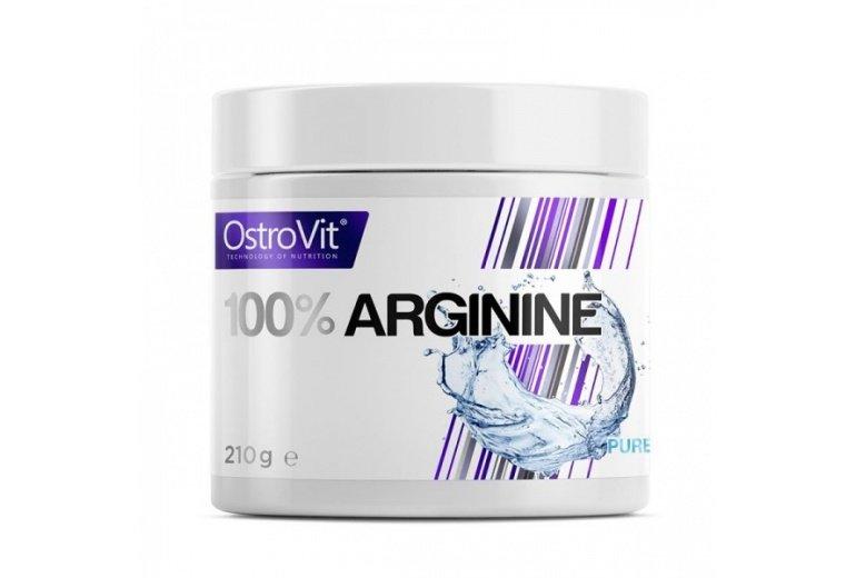 L-Arginin - Ostrovit L-ARGININE 210 g Příchuť: Pomeranč