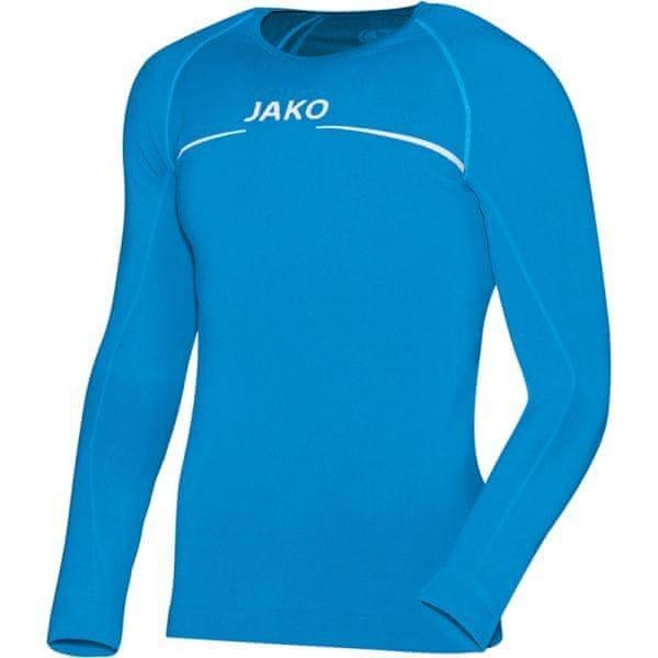 Modré pánské basketbalové tričko s dlouhým rukávem Jako