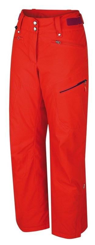 Oranžové dámské lyžařské kalhoty Hannah - velikost 42