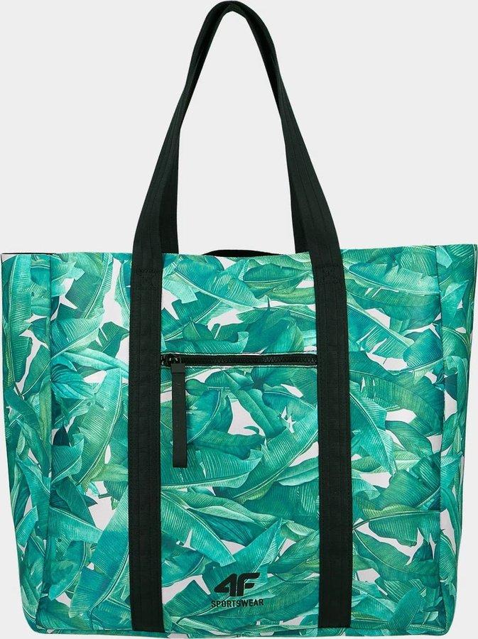 Kabelka - Plážová taška 4F TPL204 Zelená Barva: Zelená, Velikost: one size