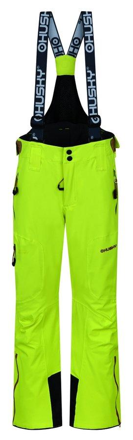 Zelené dětské lyžařské kalhoty Husky - velikost 152