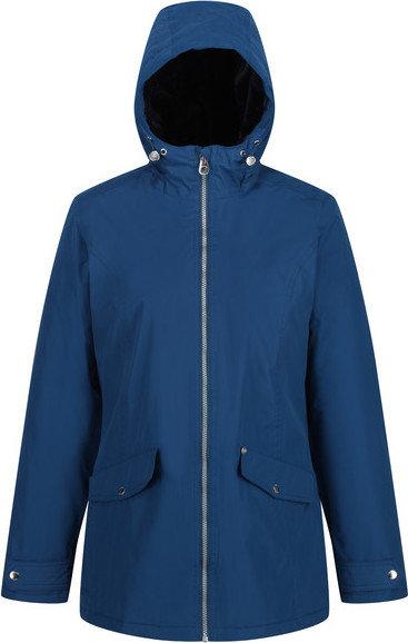 Modrá zimní dámská bunda s kapucí Regatta - velikost 36