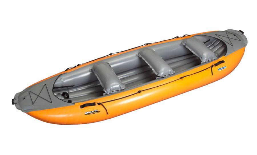 Člun - Gumotex Ontario 420 oranžovo-šedá