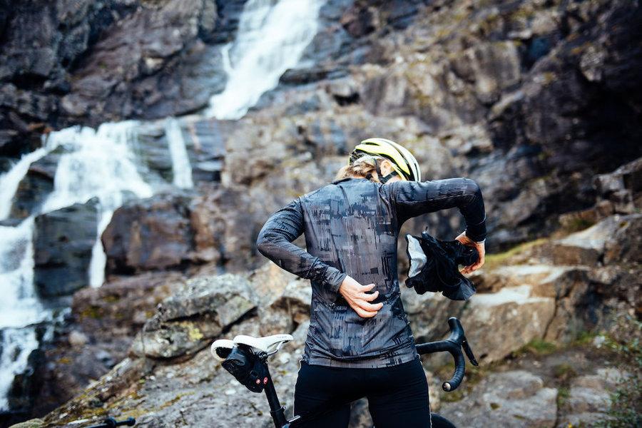 Černá dámská cyklistická vesta Craft - velikost S