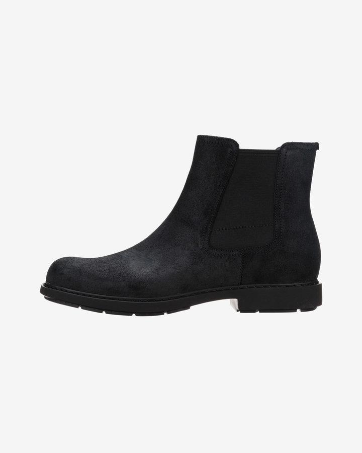 Černé pánské kotníkové boty Camper