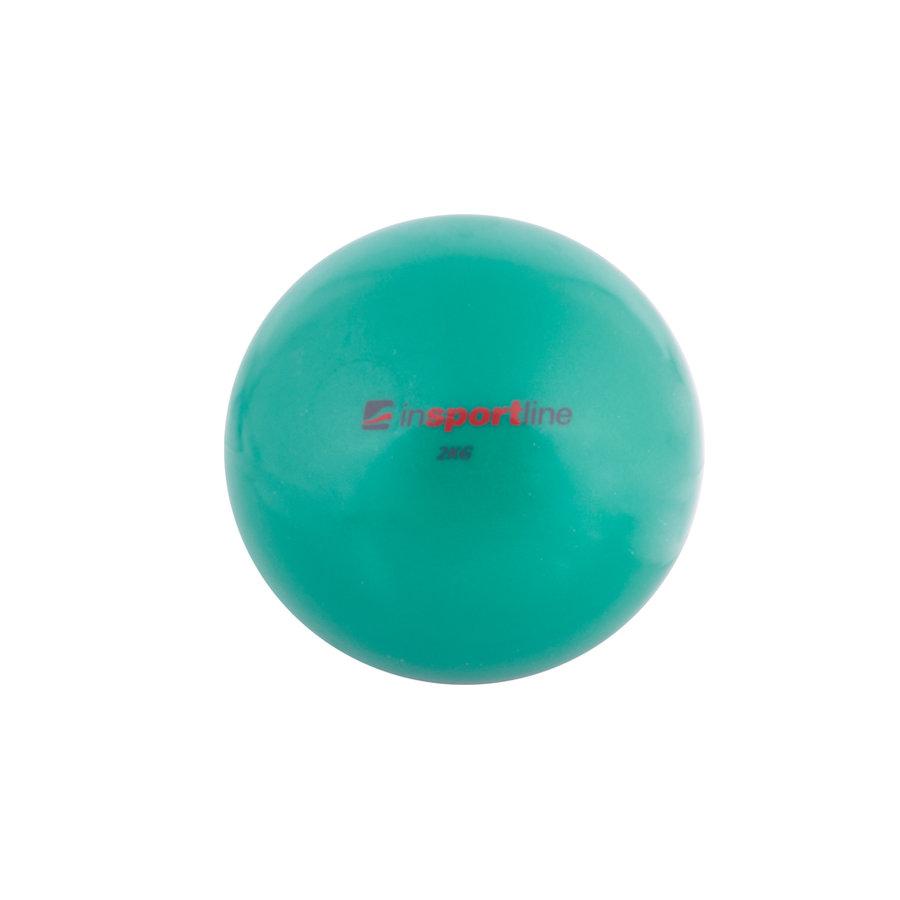 Zelený míč na jógu inSPORTline - 2 kg