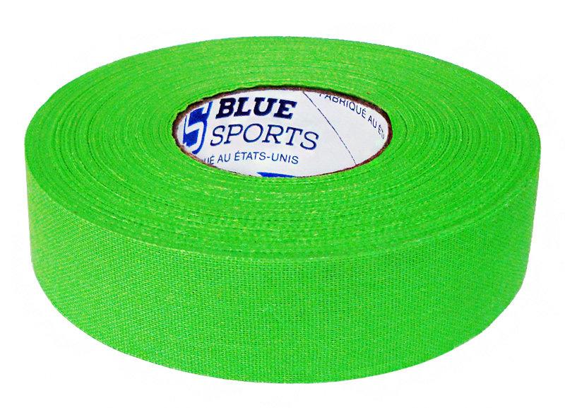 Hokejová páska - Izolace na hokejky Blue Sports neon zelená 25 m Barva: neon zelená
