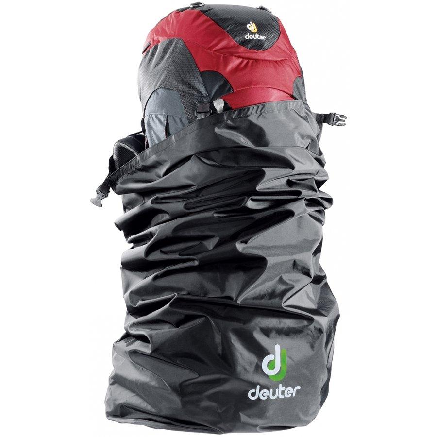 Černá pláštěnka na batoh Deuter - objem 90 l